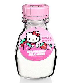 Look what I found on #zulily! Hello Kitty Strawberry Milk Mix #zulilyfinds