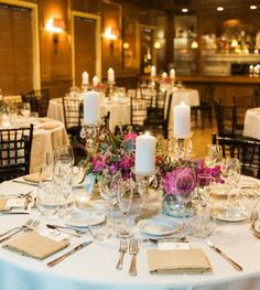Shea Christine Photography; chic rustic wedding reception theme and color idea