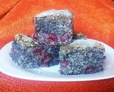 Bögrés meggyes-mákos piskóta - Blikk Rúzs Poppy Seed Cake, Croatian Recipes, No Bake Desserts, Baking Desserts, Cake Cookies, Panna Cotta, Cheesecake, Food And Drink, Ethnic Recipes