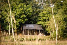 Ooit, op een dag. Off the grid, tiny house. Prachtig design!