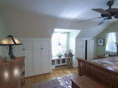 Master bedroom 'dormer closet' ideas