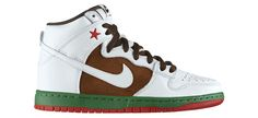 "Nike SB Dunk High ""Cali"" 