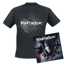 """Esclusiva EMP! L'album dei #Kamelot intitolato """"Haven"""" su doppio CD include una T-Shirt (100% cotone, taglie S, M, L, XL). L'earbook è in edizione limitata a sole 380 copie. Il CD bonus contiene la versione orchestrale e la versione acustica dei brani contenuti nell'album."""