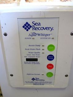 Sea Recovery Mini 350 Watermaker - Only 25 Hrs Used