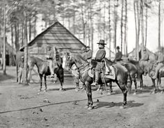 April 1864, Brandy Station,VA. Gen. Rufus Ingalls, by Timothy O'Sullivan