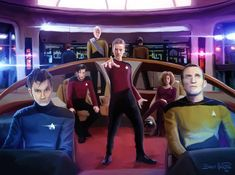 Star Trek / Doctor Who mashup by Brett Hardin///what... i like it