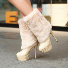 81c0c33a119 Autumn Winter Platform Snow Boots Heels Botas Femininas Boots