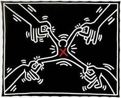 Keith Haring el graffiti que no muere Framed Wall Art, Canvas Wall Art, Framed Prints, Art Prints, Art Furniture, Matisse, Keith Haring Art, Street Art, Art Moderne