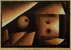 Titre de l'image : Paul Klee - Rot-Stufung, 1921.89.