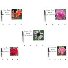 #Flower #Dry #Erase #Boards on #Zazzle!