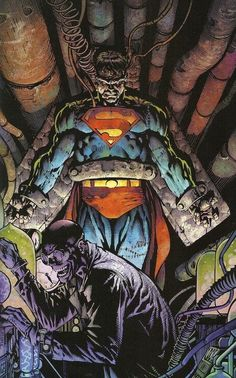 Lex Luthor and His Monster by David Finch *