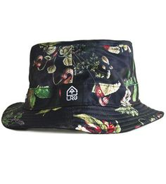 LRG Print Reversable Bucket Hat Black 0078ea5c0a1c
