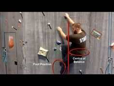 [UPDATE] Rock Climbing Techniques - Climbing Tips Lesson 2 - Positioning & Flagging - YouTube