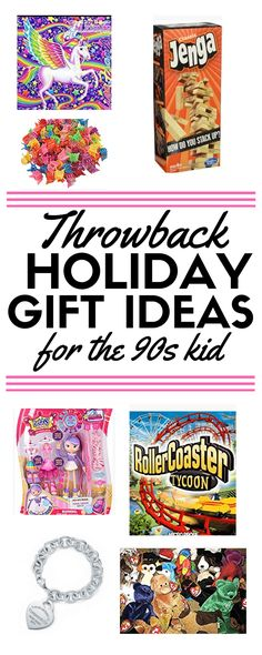 The ultimate throwback gift guide for your inner 90s kid! If you're looking for a fun, nostalgic gift, you'll find it here!