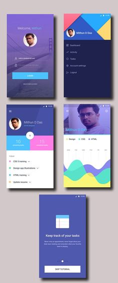 50 Innovative Material Design UI Concepts with Amazing User Experience