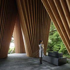 Sayama Forest Chapel | Tokorozawa, Japan | by Hiroshi Nakamura  & NAP