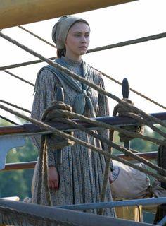 Grace Marks - Sarah Gadon in Alias Grace (TV mini-series 2017).