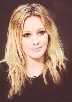 Hilary Duff looking so sweet