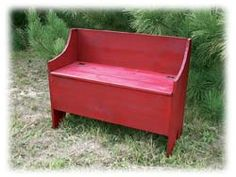 large deacon bench this design goes with early american primitive ...