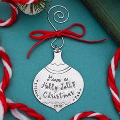 This adorable new ornament is available in my Etsy shop now. Get it before it's gone.