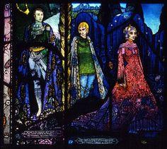 Harry Clarke, The Geneva Window, Panel 5
