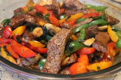 Asian Steak and Peppers Recipe on Yummly. @yummly #recipe