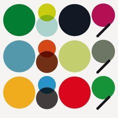 Color/Spectrum. Represents our wide range of work and topic, though it all lives under the umbrella of design. We could each have our own individual color or even color palette.