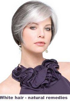White hair – natural remedies