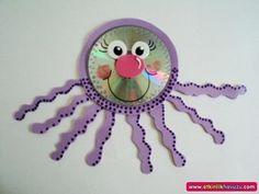 cd octopus craft
