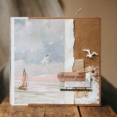 Дневник скрапоголика...: Большой морской альбом