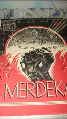 Indonesia Merdeka. In the Indonesian and Malay languages, Medeka means independent or free. Seems appropriate to pin in it in the wake of the inauguration of Jokowi Widodo as Indonesia's 7th President.