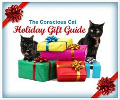 Get some gift ideas for your kitty. Holiday Gift Guide 2013 from one of our favorites, The Conscious Cat! Earth friendly and Tortie Cat approved.