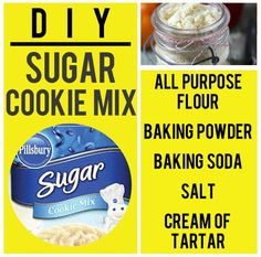 Sugar Cookie Mix | 15 Boxed Food Mixes You Never Have To Buy Again