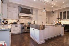 white kitchen done right
