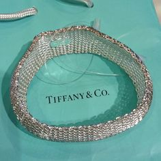 Tiff & Co. Sterling Silver Bangle Stamped 925 sterling silver bangle ..collector pc heavy !  no bag or bad will be included,  just the bracelet.. Gift Tiffany & Co. Jewelry Bracelets