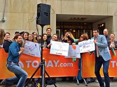 Had a blast being on the @TODAY w/ @MrSilverScott! It was great to meet so many fans!