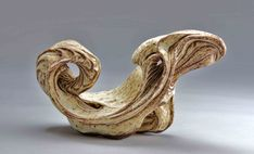Sculpture by Bob Deane Plaster Sculpture, Pottery Sculpture, Organic Ceramics, Gold Rings, Carving, Rose Gold, Artwork, Bob, Jewelry