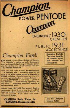 Champion Radio Tubes
