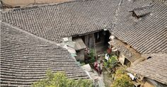 Chinese ancient courtyard