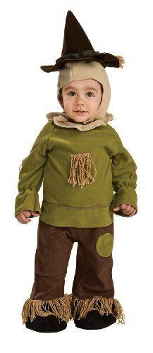 Wizard of Oz Toddler Scarecrow Costume Romper $20.64