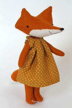 Image of RESERVED FOR JENNY: bigger fox Vera