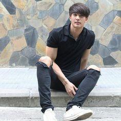 Korean Men, Asian Men, Korean Actors, Asian Guys, Bad Romance, Romance And Love, Asian Love, Thai Drama, Young Actors