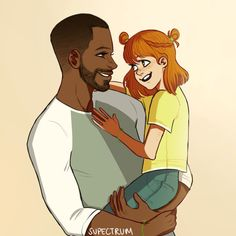Luke and little Clary very cute ,but i never thought of luke like that
