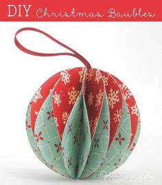 25 diy christmas ornaments to make this year love anything