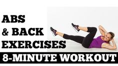8 Minute Abs and Back Exercises Full Length Core Strength Workout