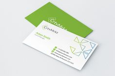 Simple Business Card by Arslan on @creativemarket