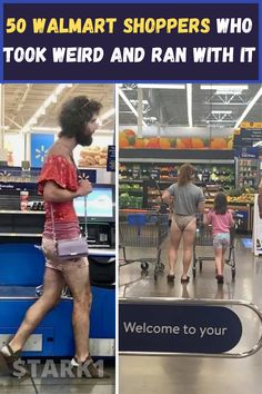 Walmart is a great place to get affordable everything, from toilet paper to clothes to produce to tools. And now, it has also become the place to catch sight of the strangest and most unique customers.