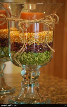 Pumpkin Candles simple and elegant