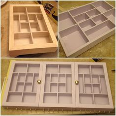 Build Wall Mounted Jewelry Box