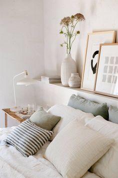 Bedroom Nook, Boho Bedroom Decor, Queen Bedroom, Room Ideas Bedroom, Dream Bedroom, Home Bedroom, Bedroom Furniture, Bedrooms, Apartment Interior